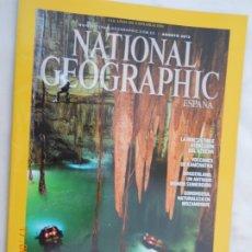Coleccionismo de National Geographic: NATIONAL GEOGRAPHIC , ESPAÑA , MAYAS , DESVELANDO LOS SECRETO DE LOS CENOTES SAGRADOS -08-2013. Lote 174645467