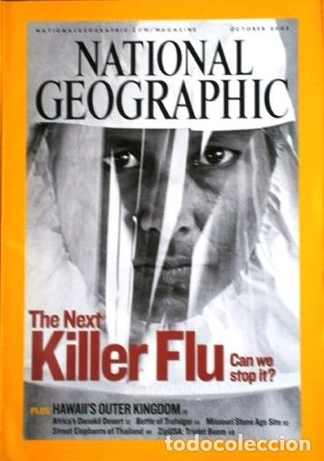 Coleccionismo de National Geographic: 12 Revistas National Geographic (Año 2005 completo) Edición original norteamericana en inglés - Foto 2 - 175067013