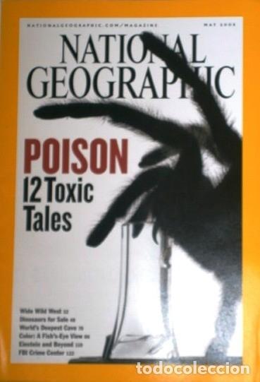 Coleccionismo de National Geographic: 12 Revistas National Geographic (Año 2005 completo) Edición original norteamericana en inglés - Foto 4 - 175067013