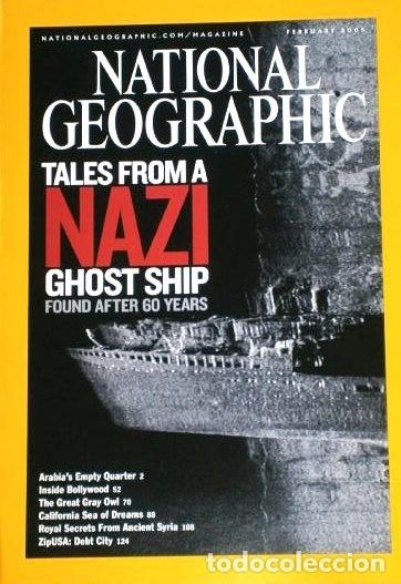 Coleccionismo de National Geographic: 12 Revistas National Geographic (Año 2005 completo) Edición original norteamericana en inglés - Foto 5 - 175067013