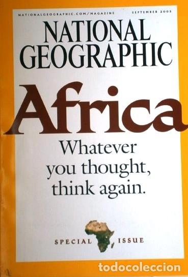 Coleccionismo de National Geographic: 12 Revistas National Geographic (Año 2005 completo) Edición original norteamericana en inglés - Foto 6 - 175067013