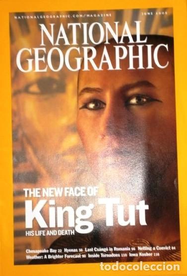 Coleccionismo de National Geographic: 12 Revistas National Geographic (Año 2005 completo) Edición original norteamericana en inglés - Foto 7 - 175067013