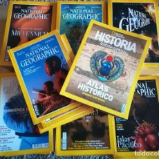 Coleccionismo de National Geographic: 67 REVISTAS DE NATIONAL GEOGRAPHIC + 1 EDICION ESPECIAL. Lote 175341984