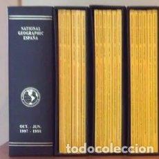 Coleccionismo de National Geographic: LOTE CON 24 NÚMEROS DE NATIONAL GEOGRAPHIC ESPAÑA, 1998-1999, GRATIS. SE PAGAN SOLO LOS ARCHIVADORES. Lote 175557828