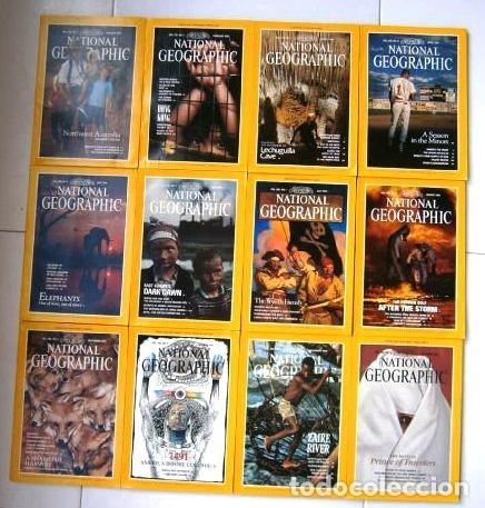12 REVISTAS NATIONAL GEOGRAPHIC (AÑO 1991 COMPLETO) EDICIÓN ORIGINAL NORTEAMERICANA EN INGLÉS (Coleccionismo - Revistas y Periódicos Modernos (a partir de 1.940) - Revista National Geographic)