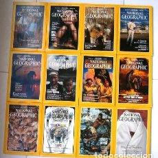 Coleccionismo de National Geographic: 12 REVISTAS NATIONAL GEOGRAPHIC (AÑO 1991 COMPLETO) EDICIÓN ORIGINAL NORTEAMERICANA EN INGLÉS. Lote 175620694