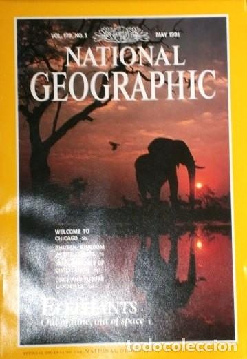 Coleccionismo de National Geographic: 12 Revistas National Geographic (Año 1991 completo) Edición original norteamericana en inglés - Foto 2 - 175620694