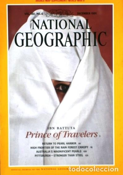 Coleccionismo de National Geographic: 12 Revistas National Geographic (Año 1991 completo) Edición original norteamericana en inglés - Foto 3 - 175620694