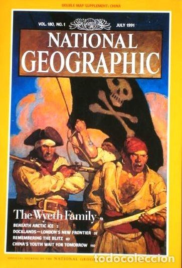 Coleccionismo de National Geographic: 12 Revistas National Geographic (Año 1991 completo) Edición original norteamericana en inglés - Foto 4 - 175620694