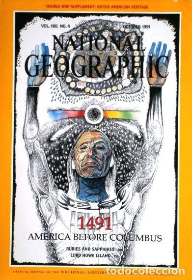 Coleccionismo de National Geographic: 12 Revistas National Geographic (Año 1991 completo) Edición original norteamericana en inglés - Foto 5 - 175620694