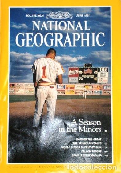 Coleccionismo de National Geographic: 12 Revistas National Geographic (Año 1991 completo) Edición original norteamericana en inglés - Foto 6 - 175620694