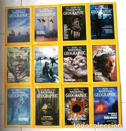 12 REVISTAS NATIONAL GEOGRAPHIC (AÑO 1992 COMPLETO) EDICIÓN ORIGINAL NORTEAMERICANA EN INGLÉS (Coleccionismo - Revistas y Periódicos Modernos (a partir de 1.940) - Revista National Geographic)