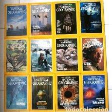Coleccionismo de National Geographic: 12 REVISTAS NATIONAL GEOGRAPHIC (AÑO 1992 COMPLETO) EDICIÓN ORIGINAL NORTEAMERICANA EN INGLÉS. Lote 175623593