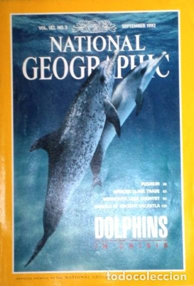 Coleccionismo de National Geographic: 12 Revistas National Geographic (Año 1992 completo) Edición original norteamericana en inglés - Foto 2 - 175623593
