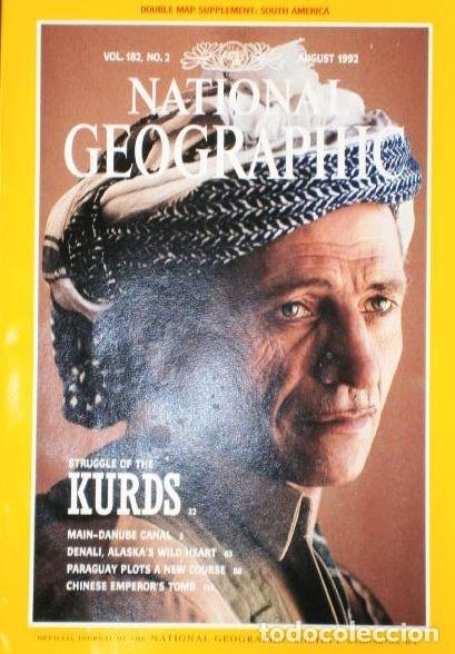 Coleccionismo de National Geographic: 12 Revistas National Geographic (Año 1992 completo) Edición original norteamericana en inglés - Foto 3 - 175623593