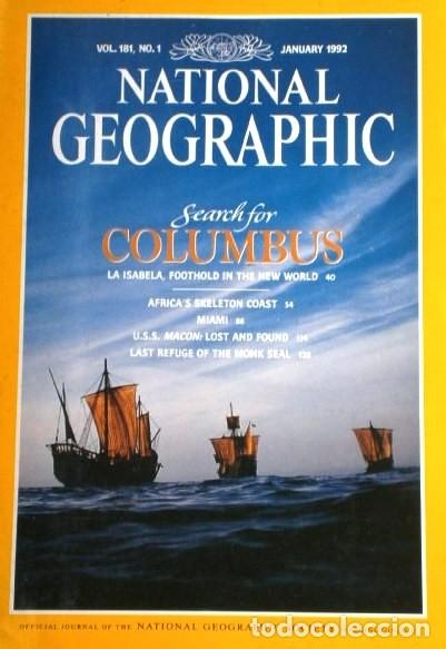Coleccionismo de National Geographic: 12 Revistas National Geographic (Año 1992 completo) Edición original norteamericana en inglés - Foto 4 - 175623593