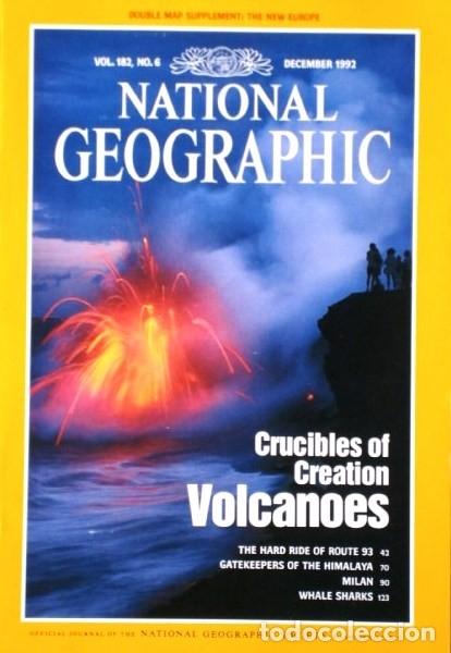 Coleccionismo de National Geographic: 12 Revistas National Geographic (Año 1992 completo) Edición original norteamericana en inglés - Foto 5 - 175623593