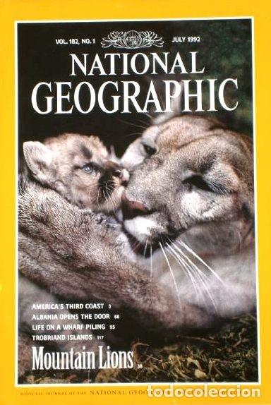Coleccionismo de National Geographic: 12 Revistas National Geographic (Año 1992 completo) Edición original norteamericana en inglés - Foto 6 - 175623593