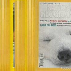 Coleccionismo de National Geographic: AÑOS 2002, 2001 Y 2000 COMPLETOS DE NATIONAL GEOGRAPHIC ESPAÑA, NUEVOS. Lote 175642800