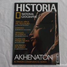 Coleccionismo de National Geographic: HISTORIA NATIONAL GEOGRAPHIC Nº 39: AKHENATÓN, TESEO, CÓMODO, VIKINGOS EN AMÉRICA,TERCIOS DE FLANDES. Lote 268855049