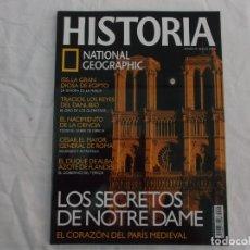 Coleccionismo de National Geographic: HISTORIA NATIONAL GEOGRAPHIC Nº 49: NOTRE DAME, LA DIOSA ISIS, CIENCIA EN GRECIA, JULIO CÉSAR. Lote 268855109