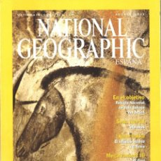 Collectionnisme de National Geographic: NATIONAL GEOGRAPHIC. AGOSTO 2001. CUEVA DE CHAUVET. Lote 234871440