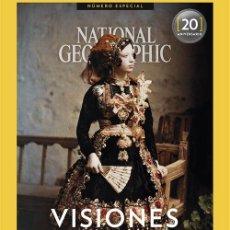 Coleccionismo de National Geographic: NATIONAL GEOGRAPHIC:VISIONES DE ESPAÑA.NÚMERO ESPECIAL 20 ANIVERSARIO 1888-1936.NUEVO. Lote 176397604