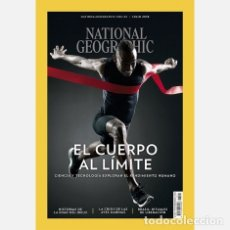 Coleccionismo de National Geographic: NATIONAL GEOGRAPHIC , JULIO 2018, EL CUERPO AL LIMITE. Lote 176435784