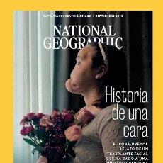Collectionnisme de National Geographic: NATIONAL GEOGRAPHIC , SEPTIEMBRE 2018, HISTORIA DE UNA CARA: NUEVO. Lote 176439397