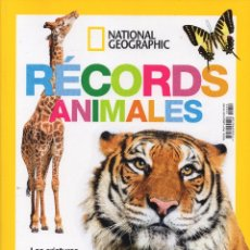 Coleccionismo de National Geographic: EDICIÓN ESPECIAL - RECORDS ANIMALES - NATIONAL GEOGRAPHIC. Lote 176568660