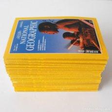 Coleccionismo de National Geographic: LOTE 17 REVISTAS NATIONAL GEOGRAPHIC ESPAÑA - OCTUBRE 1997 A FEBRERO 1999. Lote 176704817