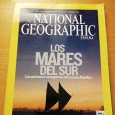 Coleccionismo de National Geographic: REVISTA NATIONAL GEOGRAPHIC MARZO 2008 (LOS MARES DEL SUR). Lote 176980578
