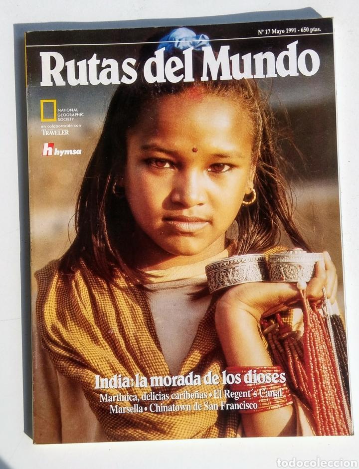 Coleccionismo de National Geographic: Lote de 3 Revistas. Rutas del Mundo. National Geographic. - Foto 2 - 177004278