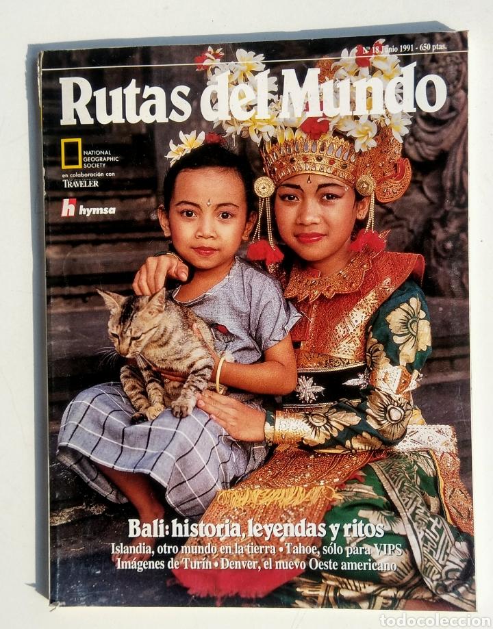 Coleccionismo de National Geographic: Lote de 3 Revistas. Rutas del Mundo. National Geographic. - Foto 3 - 177004278