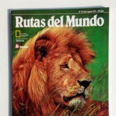 Coleccionismo de National Geographic: LOTE DE 3 REVISTAS. RUTAS DEL MUNDO. NATIONAL GEOGRAPHIC.. Lote 177004278