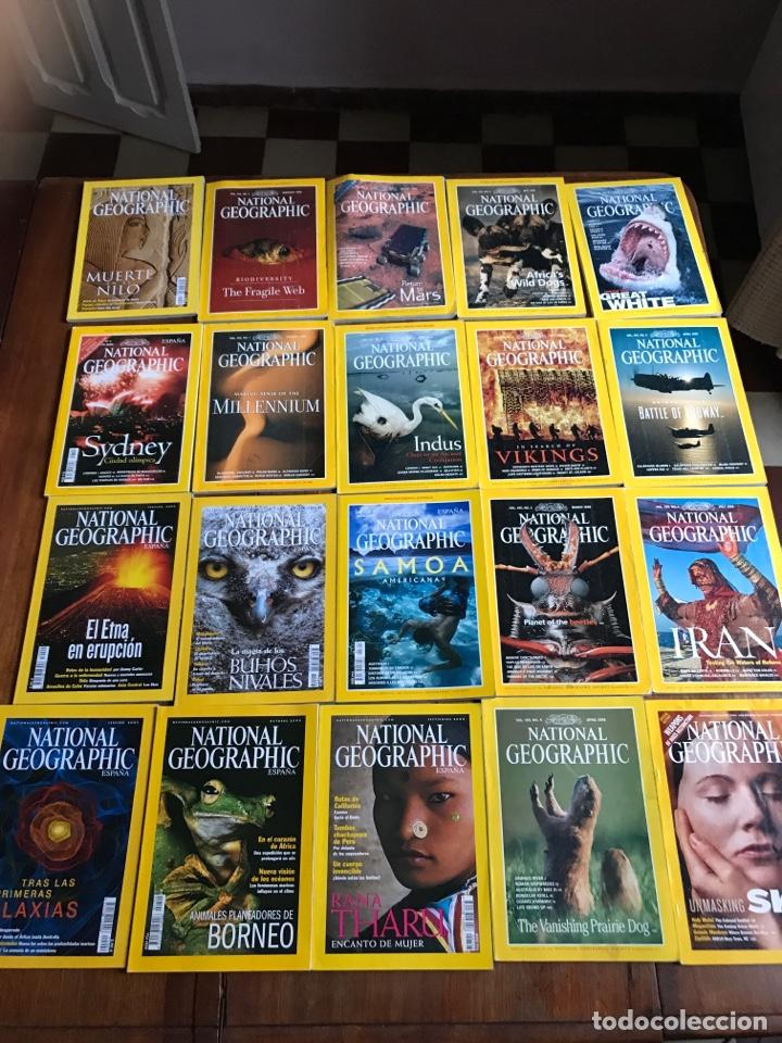 LOTE DE 20 NATIONAL GEOGRAPHIC (Coleccionismo - Revistas y Periódicos Modernos (a partir de 1.940) - Revista National Geographic)