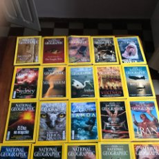 Coleccionismo de National Geographic: LOTE DE 20 NATIONAL GEOGRAPHIC. Lote 177946380