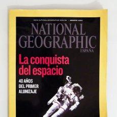 Coleccionismo de National Geographic: NATIONAL GEOGRAPHIC ESPAÑA - AGOSTO 2009. Lote 178072389