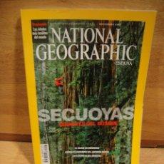 Coleccionismo de National Geographic: NATIONAL GEOGRAPHIC VOL 25 Nº 5 - NOVIEMBRE DE 2009 - SECUOYAS GIGANTES. Lote 178111013