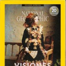 Coleccionismo de National Geographic: REVISTA NATIONAL GEOGRAPHIC | NÚMERO ESPECIAL 20 ANIVERSARIO |. Lote 178311191
