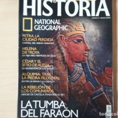 Collectionnisme de National Geographic: HISTORIA. LA TUMBA DEL FARAÓN: RITOS Y SECRETOS DE SU MORADA ETERNA. NÚMERO 27. NATIONAL GEOGRAPHIC. Lote 179079355