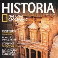 Coleccionismo de National Geographic: HISTORIA NATIONAL GEOGRAPHIC N. 135 - EN PORTADA: PETRA (NUEVA). Lote 179140937