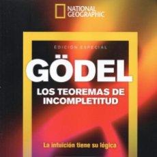 Coleccionismo de National Geographic: NATIONAL GEOGRAPHIC ESPECIAL N. 35 - GODEL, LOS TEOREMAS DE INCOMPLETITUD (NUEVA). Lote 179250992