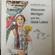Coleccionismo de National Geographic: WISCONSIN MICHIGAN AND THE GREAT LAKES. Lote 180132547