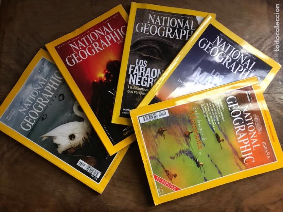 LOTE DE REVISTAS NATIONAL GEOGRAPHIC (Coleccionismo - Revistas y Periódicos Modernos (a partir de 1.940) - Revista National Geographic)