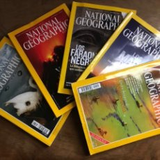 Coleccionismo de National Geographic: LOTE DE REVISTAS NATIONAL GEOGRAPHIC. Lote 180412478