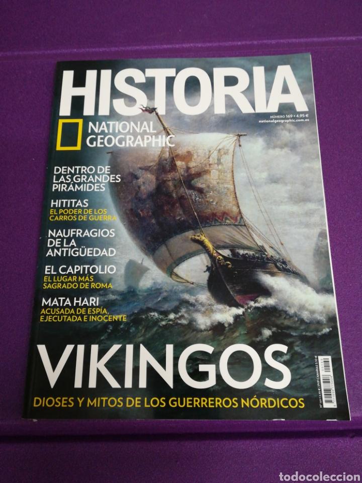 HISTORIA NATIONAL GEOGRAPHIC 169 VIKINGOS (Coleccionismo - Revistas y Periódicos Modernos (a partir de 1.940) - Revista National Geographic)