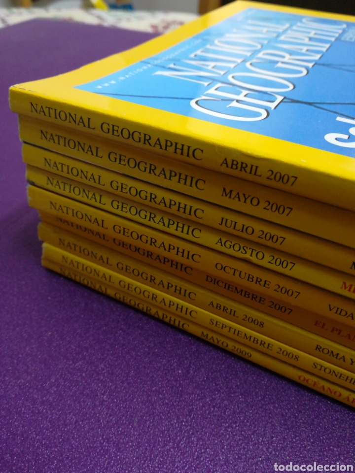 Coleccionismo de National Geographic: Lote 9 revistas National Geographic. 2007 2008 2009 - Foto 2 - 180862800