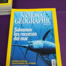 Coleccionismo de National Geographic: LOTE 9 REVISTAS NATIONAL GEOGRAPHIC. 2007 2008 2009. Lote 180862800