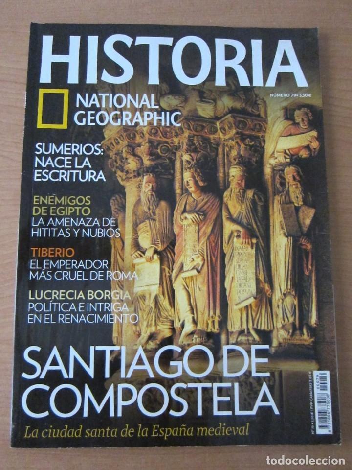 SANTIAGO DE COMPOSTELA (Coleccionismo - Revistas y Periódicos Modernos (a partir de 1.940) - Revista National Geographic)